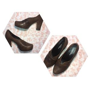 Audley | Leather Heels Made in Spain Round Toe